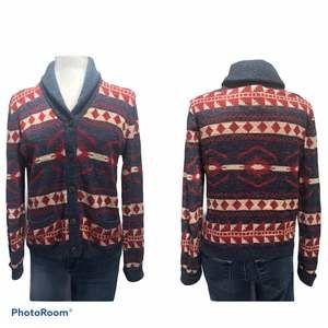 Denim & Supply RL Shawl Collar Sweater Small